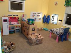 The Thoughtful Spot Day Care:  lots of ideas for dramatic play