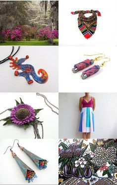 Blooming Summer ! by Elena on Etsy--Pinned with TreasuryPin.com