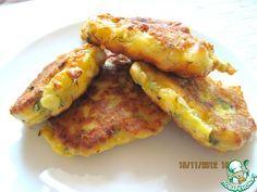 Оладьи из цветной капусты с сыром - кулинарный рецепт