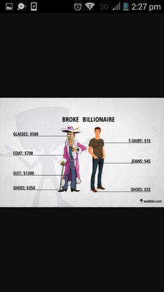Broke vs. Billionaire
