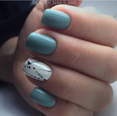 80 + elegante quadratische Nail Art Designs - nail polish - - The most beautiful nail designs Square Acrylic Nails, Square Nails, Acrylic Nail Designs, Spring Nail Art, Spring Nails, Summer Nails, My Nails, Hair And Nails, Long Nails
