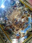 beautiful painted ceiling in the monastery at el escorial