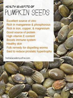 Benefits of pumpkin seeds  #sanatate #health