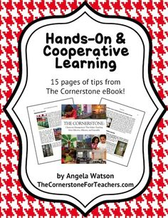 Hands-On and Cooperative Learning Tips