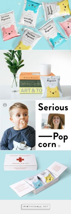 Serious Popcorn - by DDMMYY. Creative Director / Kelvin Soh, Design Team…