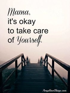 "When you're living in survival mode, and heck, let's face it, When You're A Mom, it's tempting to put self-care aside ""for the good of the family."" And heck, who has the time, anyway?! Well, Mama, it's okay to take care of yourself! It's necessary, and it IS for the good of the family! When I feel human, I can better care for my humans. Imagine that."
