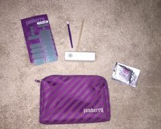 Jamberry Nail Purple Bag And Misc Accessories #jamberry #ebay #nails #nailwrap #wrap #purple