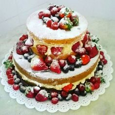 Naked Cake de Frutas !!!