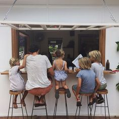 This morning at the café. Reading surfing magazines, chatting to locals, and wa. Cute Family, Baby Family, Family Goals, Beautiful Family, Family Life, Family Of 6, Courtney Adamo, Little People, Future Baby
