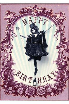 Happy Birthday Cards Australia Vintage Bday