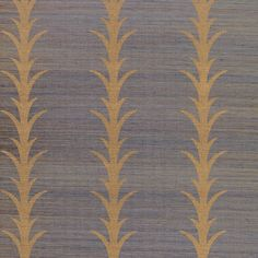 Schumacher - Acanthus Stripe, this paper would add drama to a small powder room