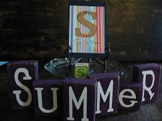 "The Creative Homemaker: ABC Summer ""S"" Day"