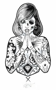 Adam Isaac Jackson's Tattooed Girl Art