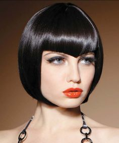 Angular precision-cut bangs from Sherri Jessee's new collection; American Salon April 2012.