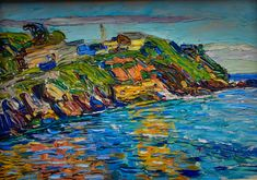 Wassily Kandinsky - Rapallo - The Bay, 1906 at Lenbachhaus Art Gallery Munich Germany (by mbell1975)