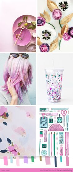 TONS of AWESOME mood boards/color inspirations