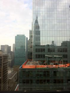 View from the office in New York
