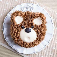 Furry cake Urso - by Janaina Suconic