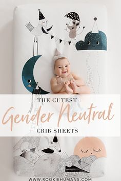 Gender neutral crib sheets that double as photo backdrops. So many cute designs for nursery themes including under the sea nursery theme, woodland nursery theme, and floral nurseries. Baby Nursery Decor, Nursery Themes, Baby Decor, Nursery Ideas, Nursery Décor, Woodland Nursery, Kids Decor, Room Ideas, Decor Ideas