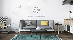 LOGO DESIGN FOR STUDIO GUO on Behance
