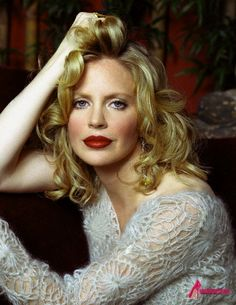 Kristin Bauer: True Blood star who loves animals and lives a cruelty free life. Beauty is as beauty does.