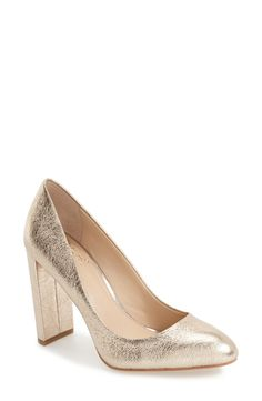 Vince Camuto 'Danea' Block Heel Pump (Women) available at #Nordstrom