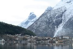 Andalsnes, Norway......The home of my grandfather.
