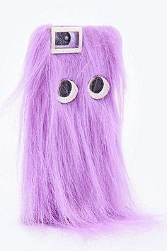 Skinnydip Fur iPhone 5 Case in Lilac - Urban Outfitters