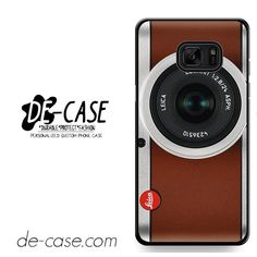 Tanned Leather Leica Camera DEAL-10460 Samsung Phonecase Cover For Samsung Galaxy Note 7