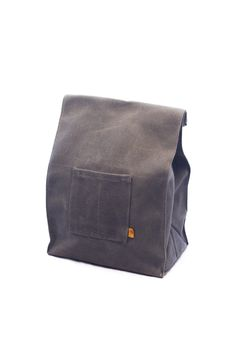 Waxed Canvas Marlowe Lunch Bag – Peg and Awl from MANREADY MERCANTILE