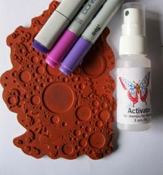 Copic Marker Europe: show a little faith, tutorial about stamping with your copics