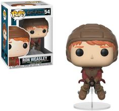 Harry Potter Ron Weasley on Broom Pop! Vinyl Figure flight for a game of Quidditch with team Gryffindor! This Harry Potter Ron Weasley on Broom Pop! Vinyl Figure measures approximately 3 tall. It comes packaged i. Harry Potter Ron Weasley, Harry Potter Quidditch, Ron Y Hermione, Harry Potter Pop, Harry Potter Pictures, Harry Potter Memes, Potter Facts, Hermione Granger, Miniatures Harry Potter