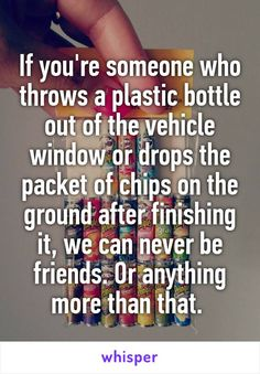 If you're someone who throws a plastic bottle out of the vehicle window or drops…
