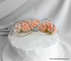 Hey, I found this really awesome Etsy listing at http://www.etsy.com/listing/126729054/infinity-symbol-cake-topper-knot