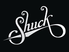 Dribbble - Shuck Logotype Round 2 by Marshall Meier #typography #calligraphy #lettering