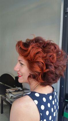 I ❤ Amaryllis #ILPITTORE #capellispendenti #HOTSHOTZ #ColorINFINITI #affinage