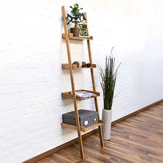 Scaffale in legno di bambù. 4 ripiani. Si sposta facilmente ed è ideale per qualsiasi ambiente. #arredocasa #arredobagno #shoppingonline