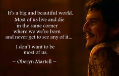 Oberyn Martell - 'Most of us.' — Postimage.org