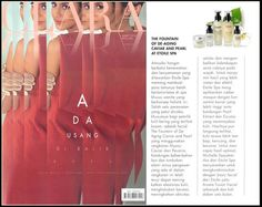 Pevonia's Caviar and Pearl facial available at étoile spa Jakarta is featured in the proudly Indonesia lifestyle magazine for women, Clara Magazine Indonesia. #spa #skincare #treatments