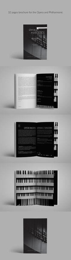 Elegant brochure, Opera i Filharmonia Podlaska