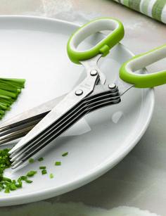 Kitchen gadgets! Herb scissors