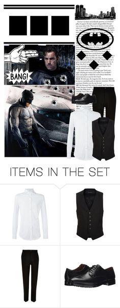 """Batman vs Superman: Dawn of Justice // Bruce Wayne AKA Batman"" by alyssaclair-winchester ❤ liked on Polyvore featuring art"