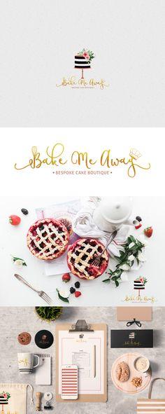 Bake me away branding by Ann Abraham https://www.behance.net/an25ab