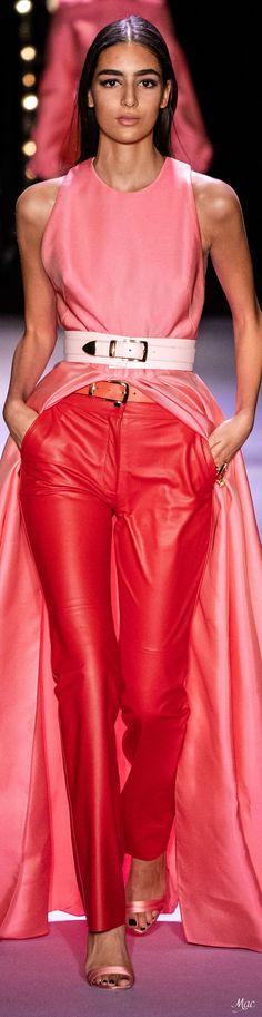 Brandon Maxwell Spring 2020 Ready-to-Wear Fashion Show High Fashion Outfits, Fashion Pants, Fashion Show, Womens Fashion, Fashion Design, Brandon Maxwell, Fashion 2020, Fashion Trends, Fashion Labels