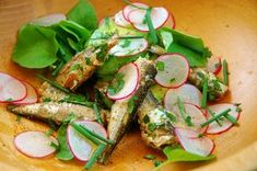 Sardine, Avocado, and Radish Salad