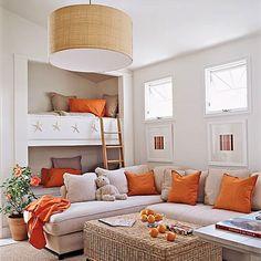 Veja mais fotos de decoração de quartos para jovens: www.fotosdedecoracao.com/fotos-de-quartos-de-adolescentes/