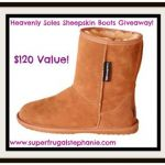 Heavenly Soles Sheepskin Boots Giveaway