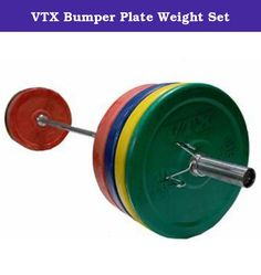 VTX Bumper Plate Weight Set. OSS-275SBP Features: -: Weight pair bumper plates: 10 lbs, 25 lbs, 35 lbs or 45 lbs. -: 1 Pair spring collars. -: Does not cover bending or rusting of the bar. Product Type: -Standard Weight Plates. Quantity: -Set. Weight Range: -5-30 Lbs./31-60 Lbs.. Material: -Rubber. Rubber Coated: -Yes. Dimensions: Overall Product Weight: -275 lbs.