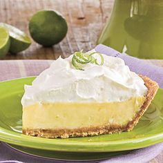 Key Lime Pie from Southern Living - simply wonderful at the beach (or anywhere for that matter)