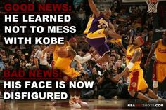[Memes] Kobe Bryant NBA Memes Funny Humor Pictures   NBAHotShots.com     Now this is funny. Check us out!